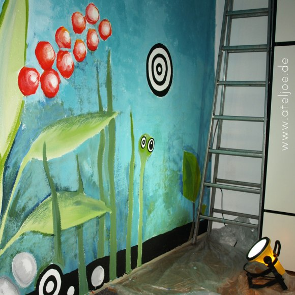 Wandgemälde Dschungel