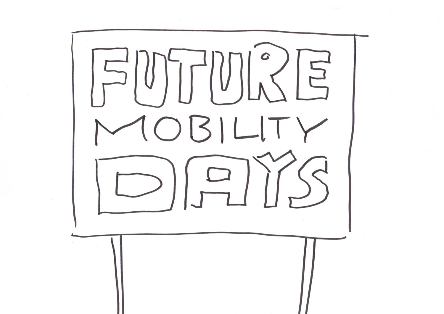 graphic recording future mobility days